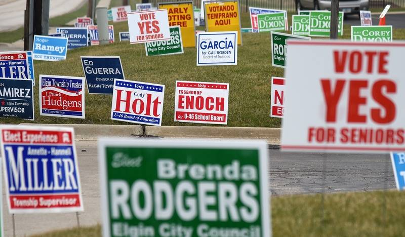 Christopher Halajian Looks At Best Ways To Use Political Signs