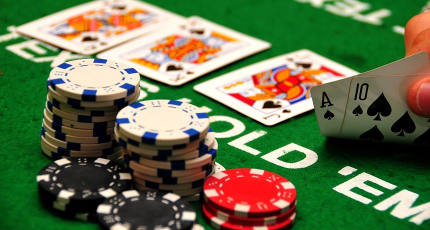 Playing live dealer poker games for the first time