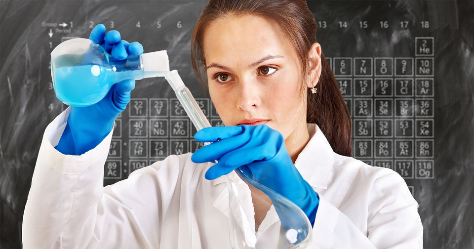 hemist, Laboratory, Periodic System, Chemistry