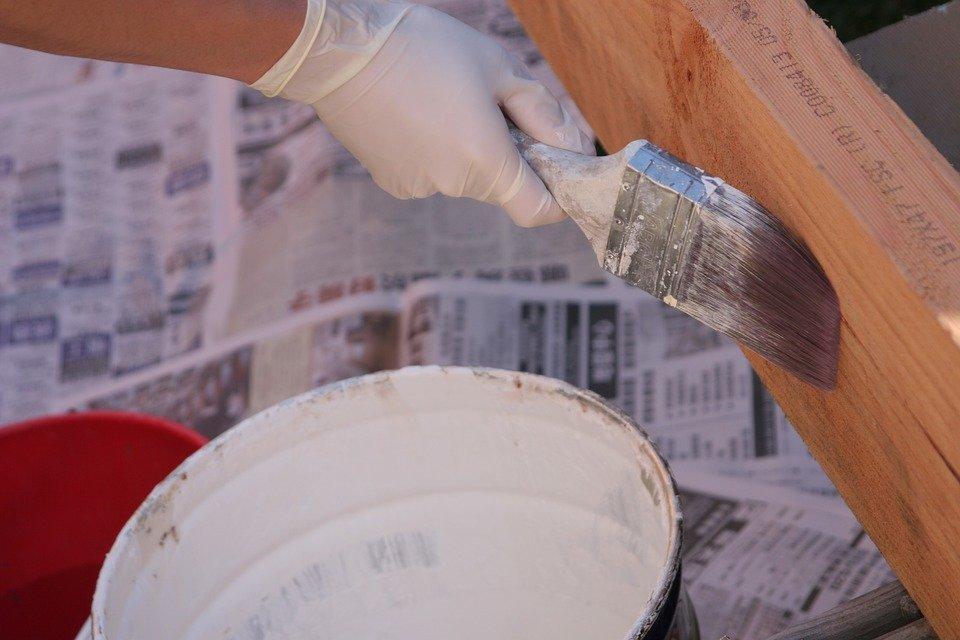 Painting, Renovation, Paint, Paint Brush