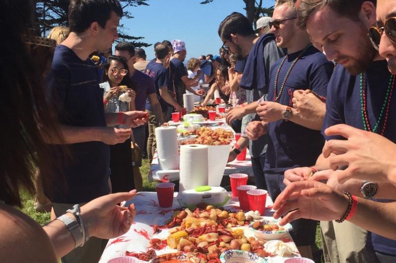crawfish bake fundraising event