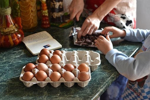 Food, Table, Egg, Hand, Natural, Cooking