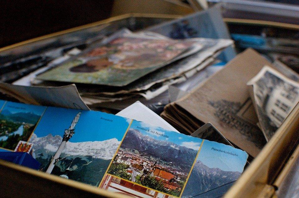 Box, Memories, Photos, Books, Photographs, Moving Box