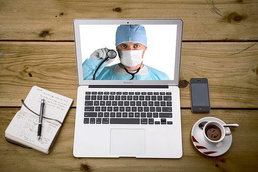 Telemedicine, Doctor, Laptop, Telehealth