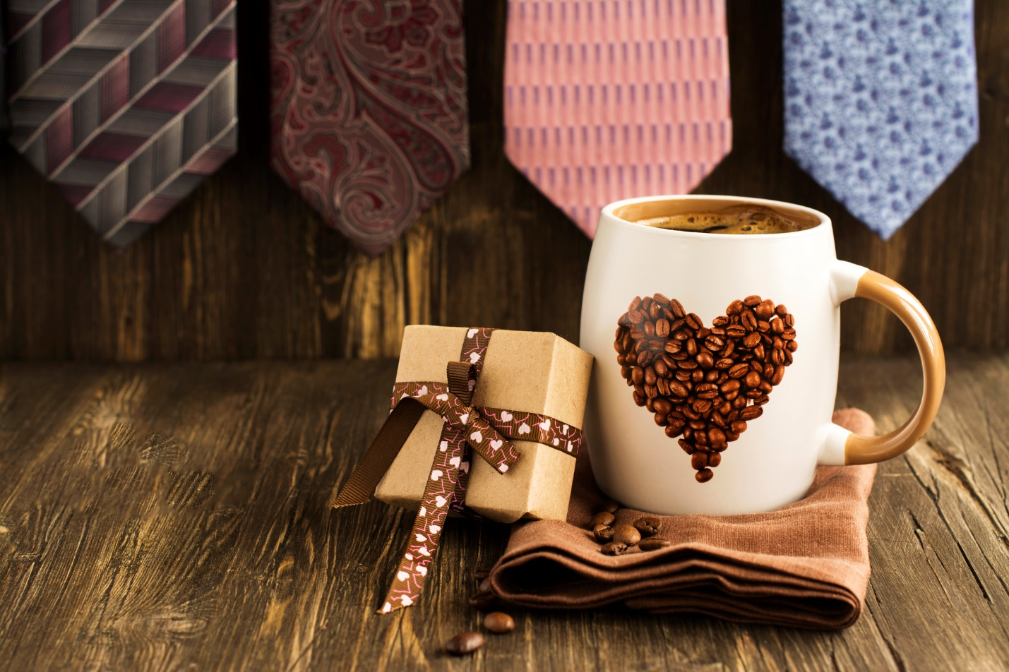 A picture containing table, coffee, cup, wooden  Description automatically generated