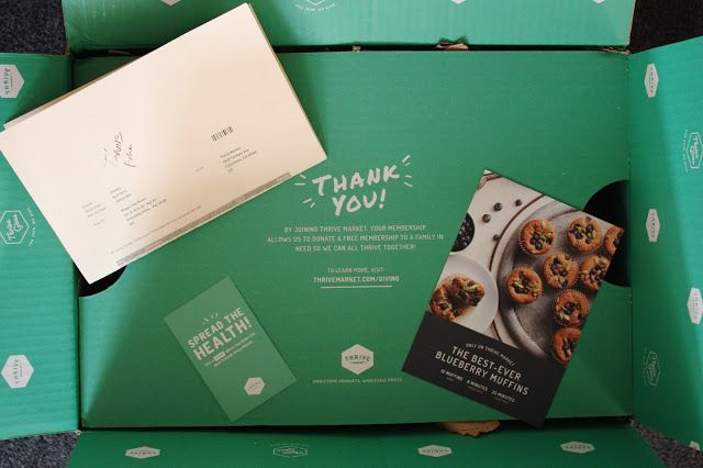 Thrive Market Review | Thrive market review, Thrive market, Blue berry  muffins